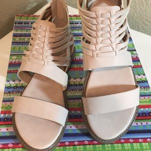 BC Born in California Vegan Blush Color Sandals